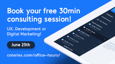 Coteries-Lab-Office-Hours-UX-Development-Digital-Marketing