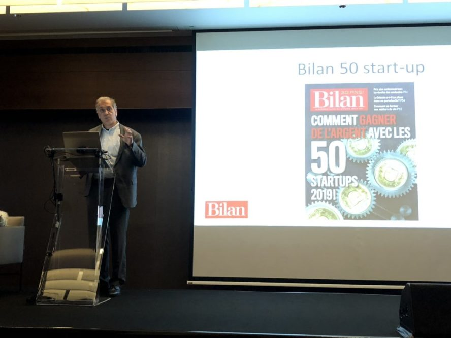 Fabrice Delaye, 50 startups in which to invest in 2019 Bilan